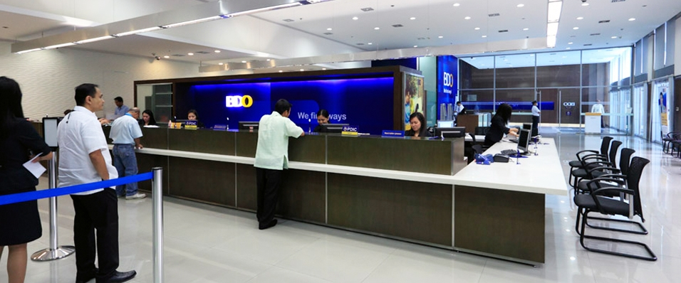 Point design bdo main office branch manila philippines for Office photos